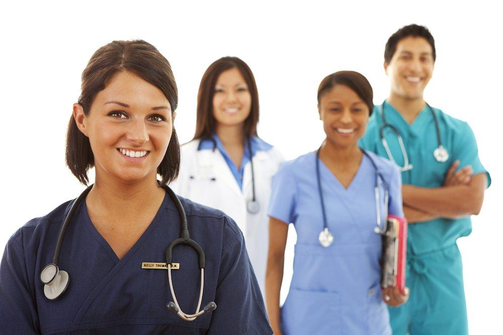 nursing-medical-students-with-stethoscope