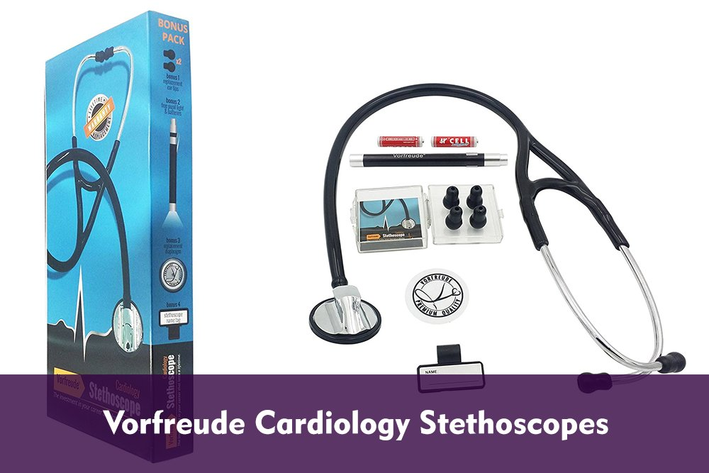 cover page image of Vorfreude Cardiology Stethoscopes