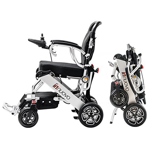 Innuovo Electric Wheelchair with 330lb Support