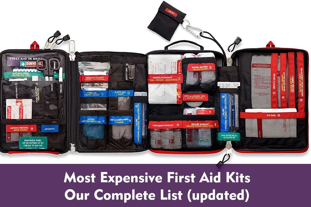 Most Expensive First Aid Kits